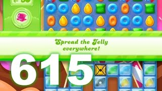 Candy Crush Jelly Saga Level 615 (3 star, No boosters)
