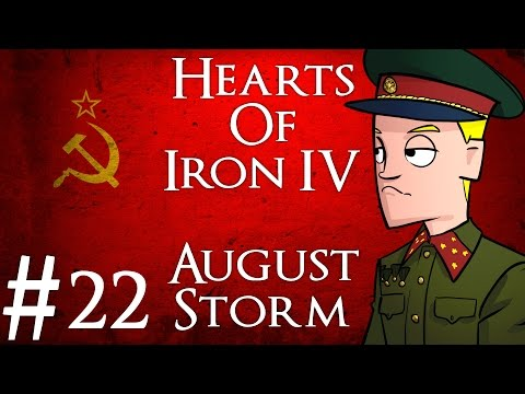Hearts of Iron 4 | August Storm mod | USSR | Part 22 | The Cold War
