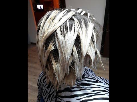 Balayage. Балаяж на светлые волосы.