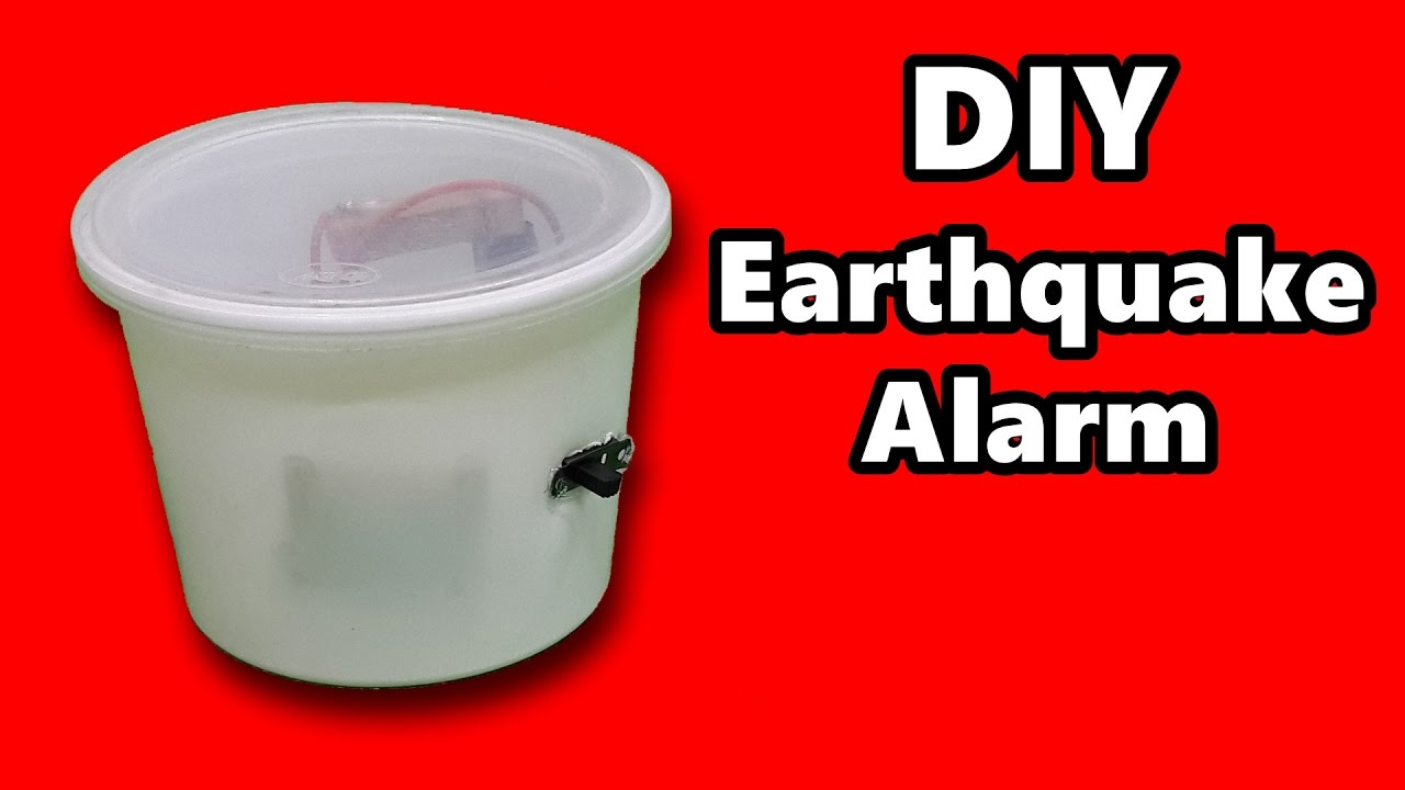 How To Make An Earthquake Alarm At Home Detector Youtube Seismic Sensor Electronics Circuits For You