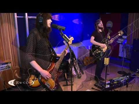 "Band of Skulls performing ""Lay My Head Down"" on KCRW"