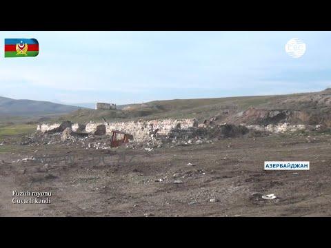 Видеокадры из села Джуварлы Физулинского района