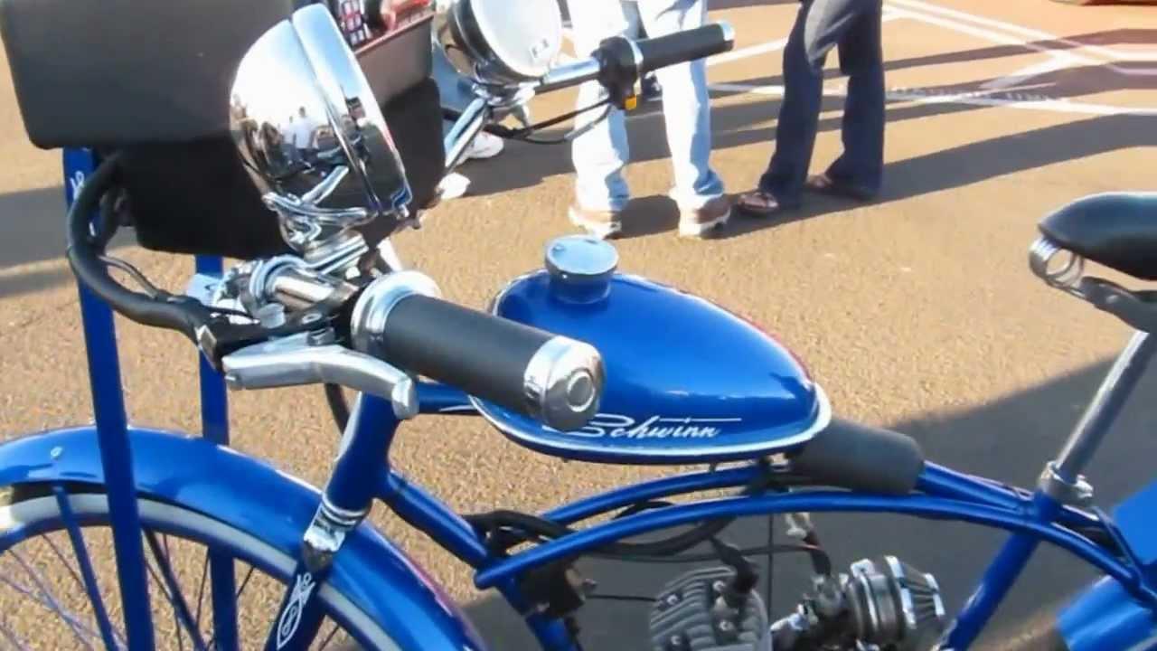 Classic Bikes - Schwinn Gas Bike 80cc With Radio