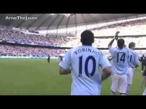 Robinho _His Story_ - FC Santos ● Real Madrid ● Manchester City ● Milan AC - HD