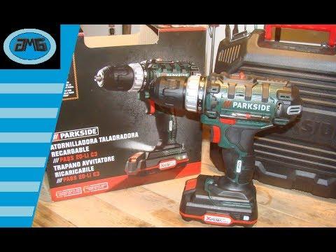 Parkside Cordless drill PABS 20-Li C3 Trapano Avvitatore - Parkside visseuse - Akku-Bohrschrauber