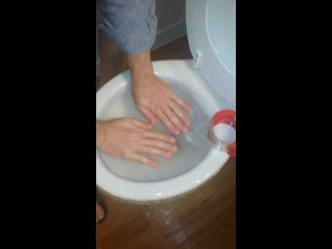 How To Unclog Toilet With Packing Tape