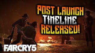 FAR CRY 5 - Post Launch Timeline RELEASED! Official Release Dates!