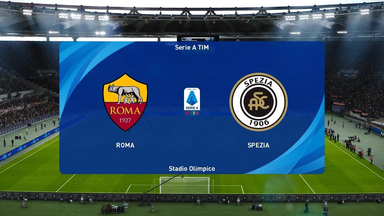 Download PES 2021   AS Roma vs Spezia - Coppa Italia   19/01/2021   1080p 60FPS