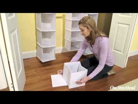 My Closet Organizer System for Nursery & Kid's Rooms from One Step Ahead