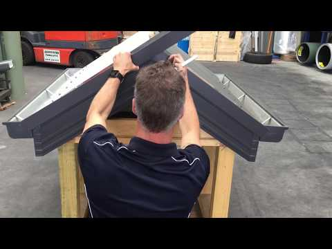 How to: Install Barge capping on COLORBOND® Corrugated Iron | Metal Roofing Online