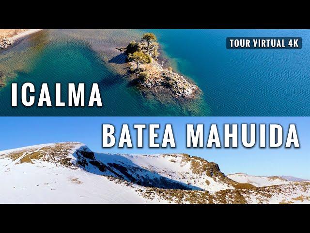 Icalma (Chile) y Volcán Batea Mahuida (Argentina): Trekking 12 Kms en Lonquimay