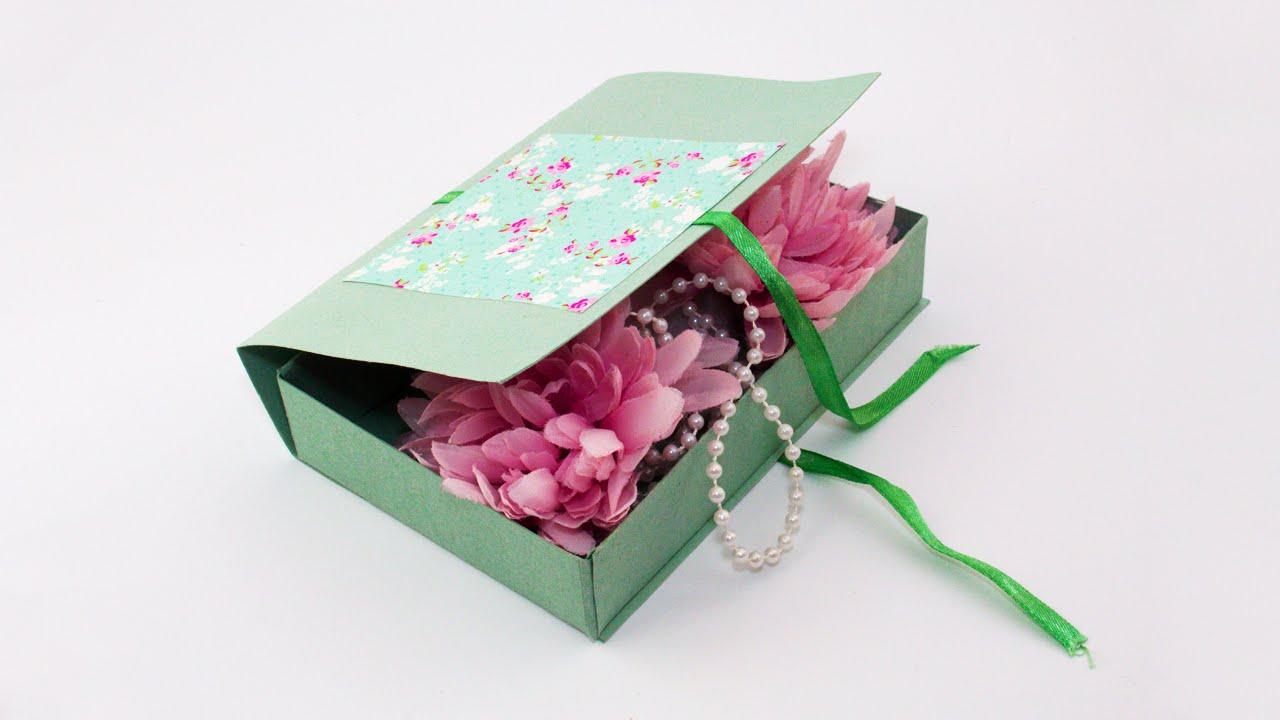 Diy decorative cardboard gift box youtube solutioingenieria Choice Image