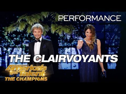 The Clairvoyants: Mind-Readers Reveal Judges Love Lives - Americas Got Talent: The Champions