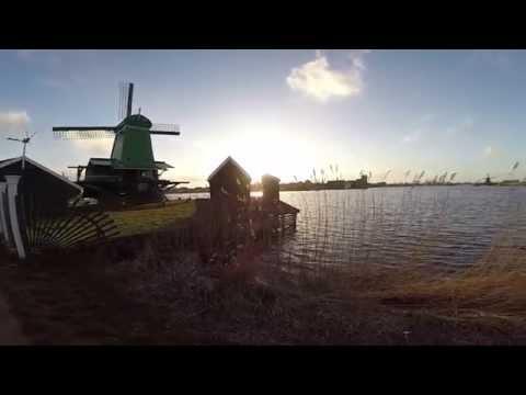 Holland trip Day 1 - Keukenhof - Noordwijk - Zaanse Schans GOPRO HERO 3+ black