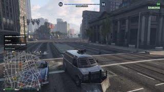 Grand Theft Auto V 2 Failed Orbital Cannon Attempts
