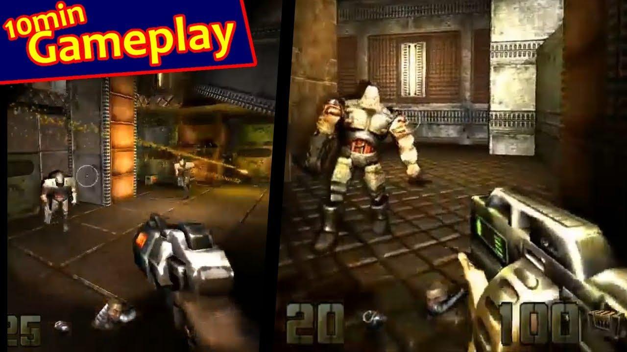 Quake II + Berserker v1 40 (enhanced graphic mod)     Gameplay