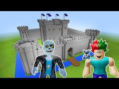 Süper Güçlü Kale Yapıyoruz 🏰 - Minecraft