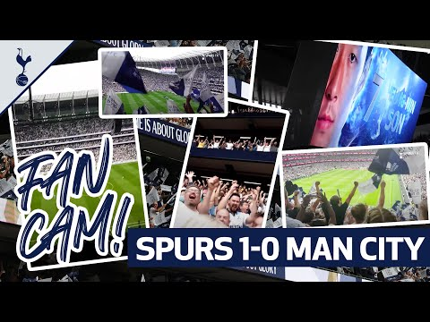 Experience Spurs' MEMORABLE victory against Man City at Tottenham Hotspur Stadium through the eyes of a fan!