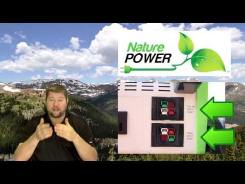 Nature PowerPak Portable 1800-Watt Solar Generator Intro