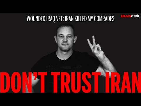 Wounded Vet says Don't Trust Iran