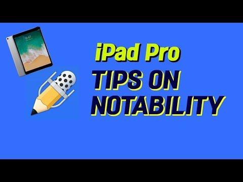 [iPad Pro] 5 Useful Tips on Notability || 대학생을 위한 아이패드 프로 노타빌리티 꿀팁 5가지!!