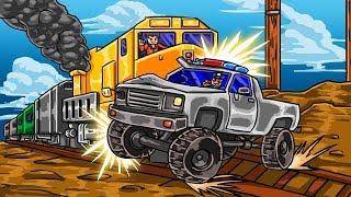 Roblox   STOPPING THE TRAIN IN JAIL BREAK - New Update! (Roblox Jail Break)