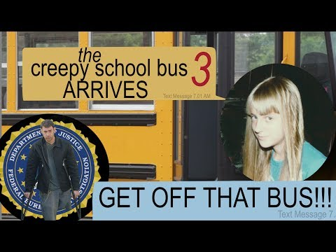 THE CREEPY SCHOOL BUS ARRIVES group text story