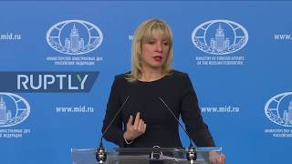 Russia: 'If US dares to do it again - we'll create special areas for their journalists!' - Zakharova