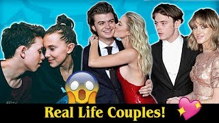 Real Life Couples of Stranger Things! 😍💖