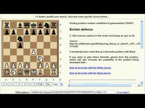 Chess Openings: Chess World.net - 1.e4 c5 opening name overview (Chessworld.net)