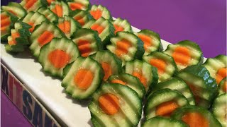 Carrot inside a cucumber kitchen hack!
