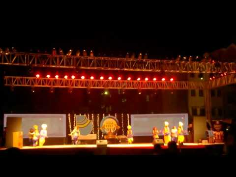 Bhangra performance law college Dehradun yuva fest 2016