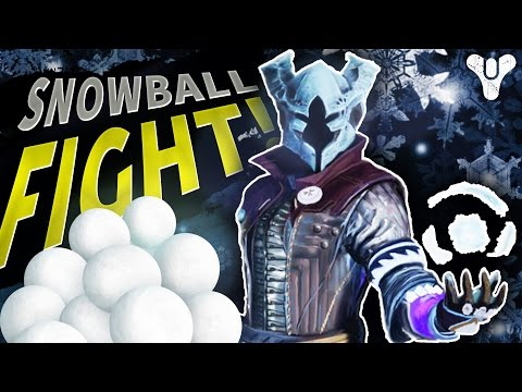 SNOWBALL FIGHT! Custom Game | Destiny (The Dawning)