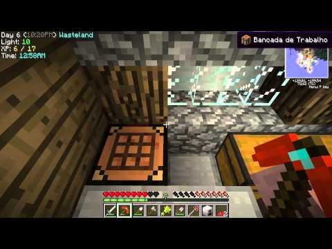 Minecraft com Mods - Sem Música Brincando de Tarzan - EP4