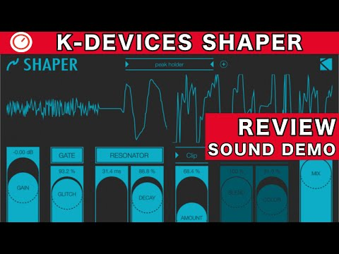 K-Devices Shaper (iOS/AUv3) Review & Sound Demo | SYNTH ANATOMY