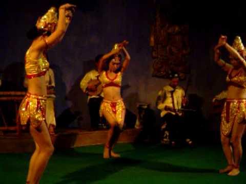 Vietnamese Cham dance