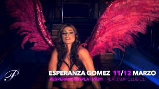 Esperanza invitación 11 12 marzo Show Platinum Club