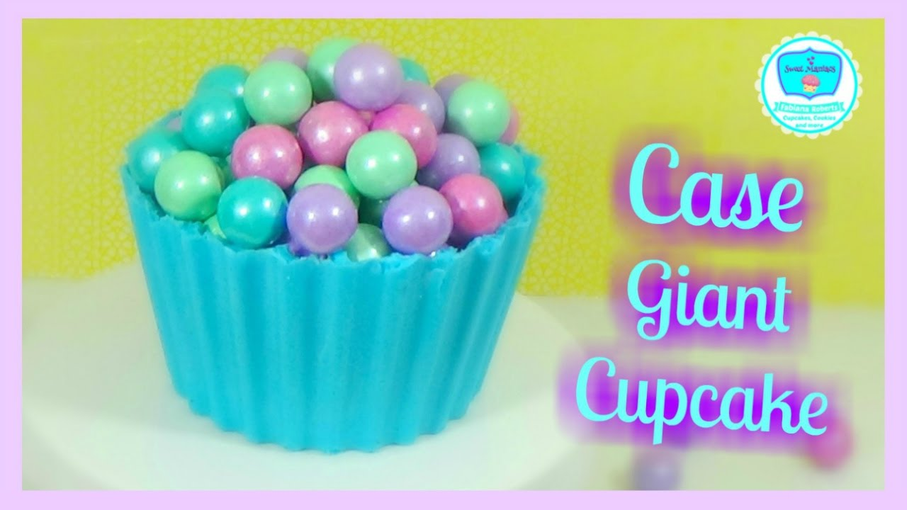 Case For Giant Cupcake How To Make Giant Cupcake Shell Basics 5