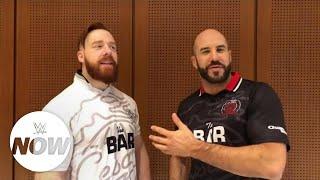 WWE Now Arabic: شيموس وسيزارو يكشفان عن رقميهما المفضل لدخول نزال رويال رامبل