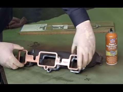 How-To Use Permatex Copper Spray-A-Gasket® Hi-Temp Adhesive Sealant 80697  Tutorial Instructions