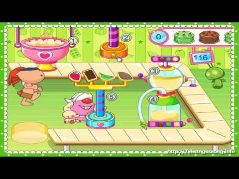 Game Làm Bánh Gato