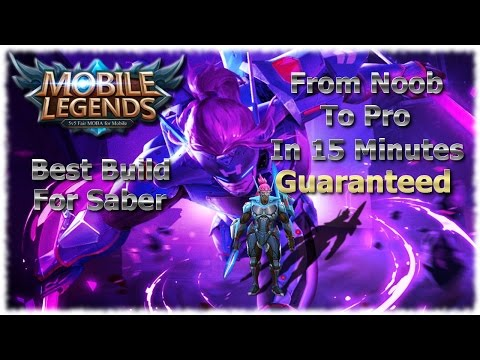 Mobile Legends Best Saber Build Of All Time | Unbeatable Guide
