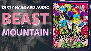 Harsh Tones || Dirty Haggard Audio Beast Mountain || Hi Gain Overdrive / Distortion || Pedal Demo