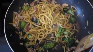 Mylore's Chicken Noodle Stirfry
