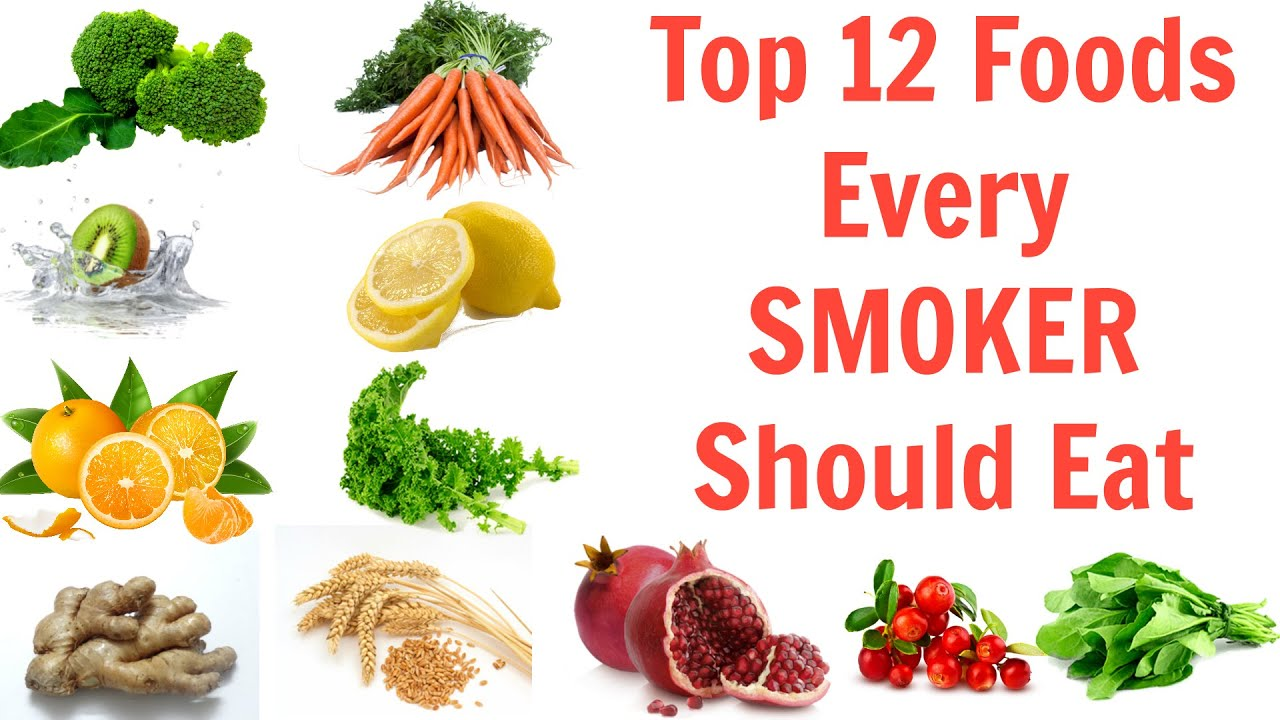 Top 12 Foods To Flush Nicotine Out Of The Body Youtube