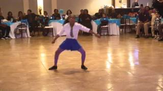 rayna dixon 9 yrs old dancing to lil man anthem part ii