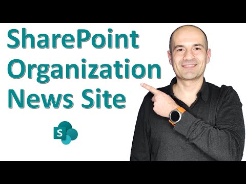 📣 How to create Organization News Site in SharePoint