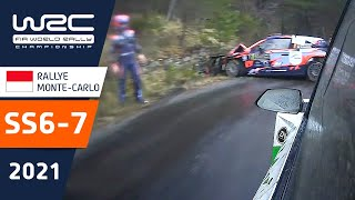 WRC - Rallye Monte-Carlo 2021: Stages 6-7