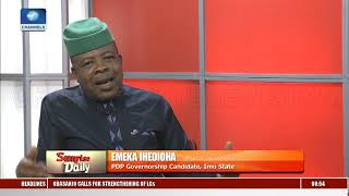 Imo Gov'ship Race: Our State Is About The Worse Govern State - Emeka Ihedioha Pt.2