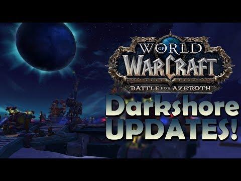 Battle for Darkshore Zone UPDATES! [8.1 Warfront]   Battle for Azeroth